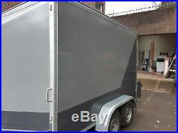 10ftx 6ft twin axle box trailer