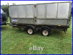 12ft Tipping Tipper Trailer Ifor Williams Electric Hydraulic Tip TT126G