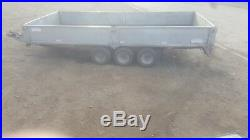 14 ft tri axle trailer dropside purpose graham edwards