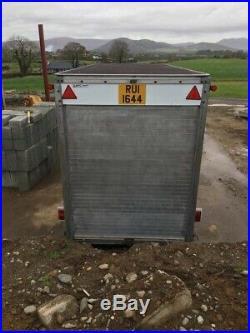 14ft Box trailer