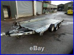 14ft car transporter trailer Indespension