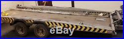 16' brian james hi max Tilt Bed Car Transporter Trailer. Vgc. 3500kg