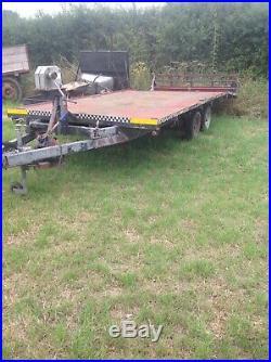 16ft Beavertail Recovery Trailer Tilt Bed
