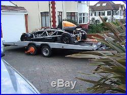 16ft Brian James Hi-Max T2 Fully Tilting car Transporter