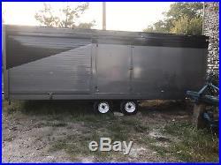 16ft Indespension car Trailer box race car transporter autograss quad motorcross