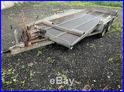 16ft Tilt Bed Car Transporter Trailer