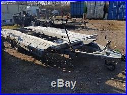 17' Ifor Williams CT177 Tilt Bed Car Transporter Trailer. Vgc. 3500kg