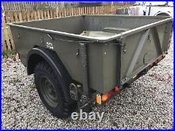 2005 Land rover Ex Army GS Lightweight Penman Trailer + Cover £1000+VAT