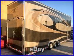 2009 Classic Industries 32ft Stacker Race Car Trailer NHRA IHRA IMSA SCCA LOOK