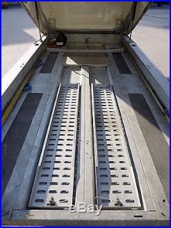 2013 Brian James Race Shuttle 3 RS3 Tilt Bed Car Trailer Transporter