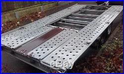 2015 Car Trailer Transporter TILT BED Low Car Easy Loading