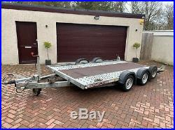 2016 Brian James A4 Car Transporter Trailer 2600kg Great Condition 4m x 2m