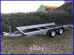 2019 Woodford car vehicle transporter trailer 14' x 6'6 2600kgs GTW No VAT