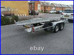 2500Kg Tilt Bed Brenderup Car Transporter Trailer 2.5Tonne