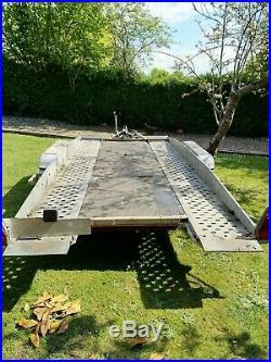 2500Kg Tilt Bed Brenderup Car Transporter Trailer Tiltbed Recovery 2.5Tonne