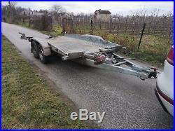 2500kg Brenderup German Twin Axle Car Trailer Transporter Tilt