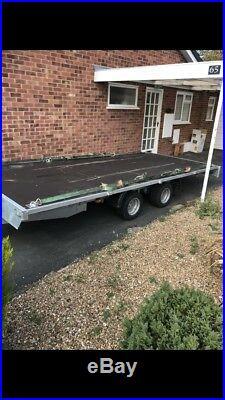 3000kg Twin Axle Trailer Car Transporter