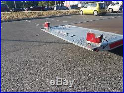 3500kg Car VAN Transporter Trailer Tilt Bed 3 axle