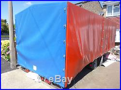 3.5 Ton Car Trailer, With Cover