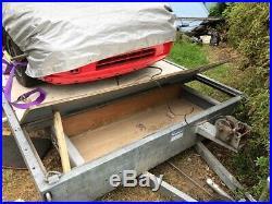 4 wheel Prg beaver tail car recovery trailer transporter 16ft