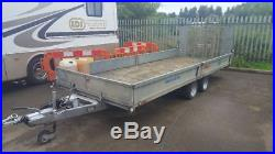 5m x 2m x 300mm twin axle tilt trailer for sale