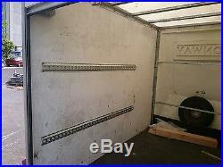 8X5 Twin Axle Box Trailer Braked