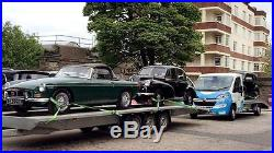 AMS 2 car transporter trailer 8m