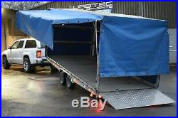 Algema MT Multi Trans Car Transporter 4.6m x 2.0 Tilt deck Trailer Price + VAT