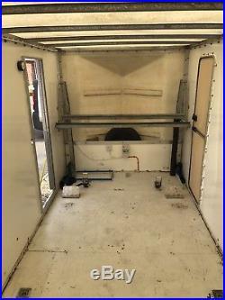Armitage race car box trailer