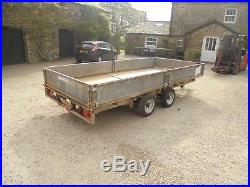 #B0700 Ifor Williams LM146G 3500KG dropside flat trailer digger Car IW NO VAT