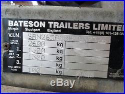 Bateson Tilt Car Trailer