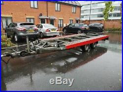 BOECKMANN GERMAN Car Trailer Transporter Tilt Bed 3000KG