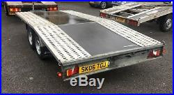 BORO Car Transporter Trailer Recovery Flat bed 2700kg GVW 4.0M long LIGHT WEIGHT