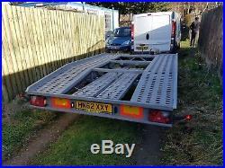 BORO Car Transporter Trailer Recovery Flat bed 2700kg GVW 4.0 m long