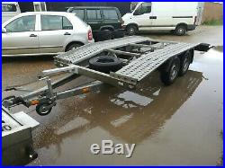 BORO Car transporter trailer perfect condition 2700kg