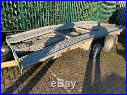 BORO Car transporter trailer perfect condition 2700kg Roll over conversion