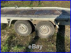 BORO car transporter TWIN WHEEL TRAILER