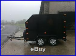 Box Trailer Tow A Van Towavan Car Trailer Twin Axle Lightweight Stunning
