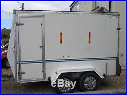 BOX TRAILER four wheel 10 x 5 CONWAY