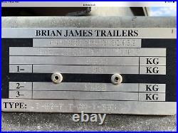 BRIAN JAMES A MAX COVERED TRAILER CAR TRANSPORTER 120 3050 MODEL 2600kg