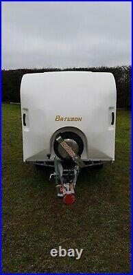 Bateson 120v Twin Axle Unbraked Box Van Trailer 750kg