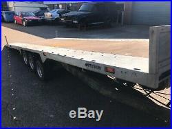 Bateson 18ft Tri- axle Tilt Car trailer