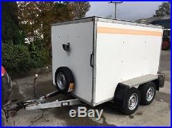 Bateson 240v Box Trailer, 8' x 5' x 5', 2000Kg. Very tidy