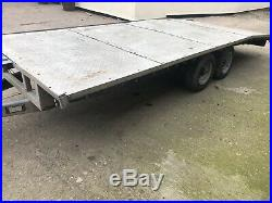 Bateson Car Transporter Trailer 16ft/ Beavertail Twin Axle Trailer