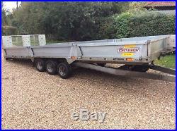 Bateson car / plant trailer PT66. 18ft