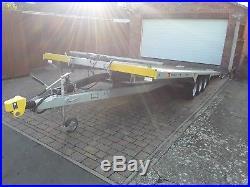 Bateson car transporter trailer