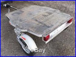Besco Germain & LeJour Folding Suitcase Aluminum Motorcycle, Small Car Trailer