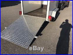 Blue Line Box Van Trailer Tail Ramp No VAT
