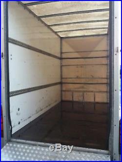 Blue Line Twin Axle Box Trailer 10x5x7 Drop Down Ramp Vgc Read
