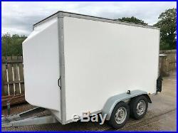 Blue Line box trailer